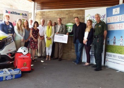 Heart of Bucks funding at  Place Farm Way hosted by Community Impact Bucks